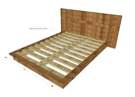 Bed Frames Ikea Usa How To Make King Size Bed Frame Hotel Style Headboard Platform Bed