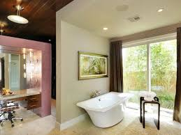 a minimalist master bathroom chris johnson hgtv