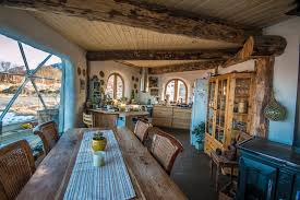 how one family thrives in the arctic with a cob house inside a