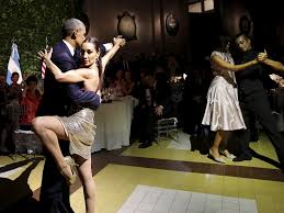Wildfire Dance by Video Obama Dances Tango In Argentina Business Insider