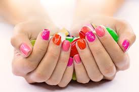 collection design nails and spa pictures asatan