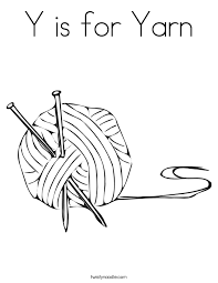yarn coloring twisty noodle