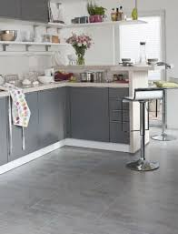 grey kitchen floor ideas these big square grey tiles for the kitchen and dining area