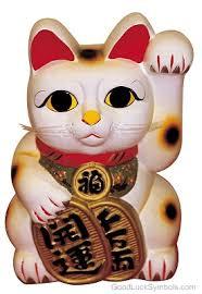 maneki neko japanese lucky cat beckoning cat