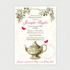 kitchen tea invitation ideas garden tea diy printable bridal shower invitation
