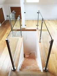Looking Down Stairs by Balustrades Glass Outlet