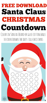 christmas countdown calendar free christmas countdown calendar