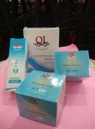 Pemutih Ql jual ql paket whitening komplit paket perawatan pemutih wajah