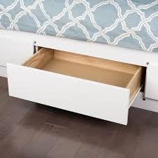 How To Build A Platform Bed With Drawers by Amazon Com White Queen Mate U0027s Platform Storage Bed With 6 Drawers