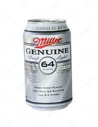 miller genuine draft light can of miller genuine draft light beer stock editorial photo