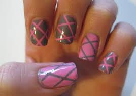 easy nail striping tape tutorial youtube