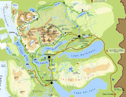 Patagonia Map How To Get To Torres Del Paine National Park