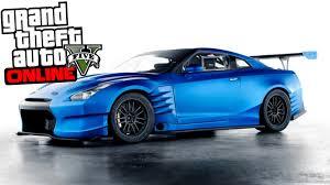 nissan blue car gta 5 online fast u0026 furious 7 paul walker u0027s nissan gtr custom