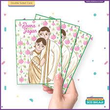 invitation card cartoon design quirky creative indian wedding invitations kerala christian