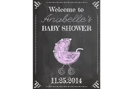 baby shower welcome sign baby shower chalkboard sign signitup