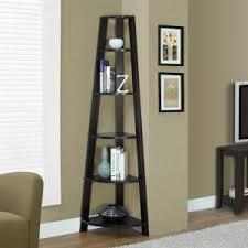 Tiered Bookshelf Corner Bookcases On Hayneedle Bookshelves For Corners