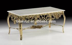 Carved Coffee Table Antique French Gold Plated Brass Coffee Table Rococo Style Copper