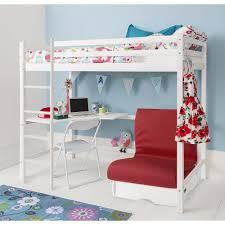 land of nod desk white high sleeper cabin bed with desk noa u0026 nani