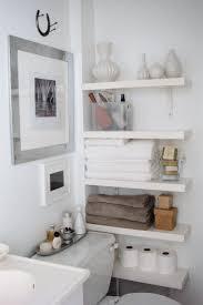 Chrome Bathroom Furniture by Bathroom Shelving Ideas Ikea Organize It All Metro 4 Tier Shelf