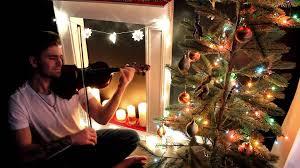 christmas carol violin valenti cover silent night youtube