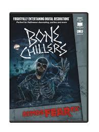 halloween background dvd amazon com atmosfearfx bone chillers digital decorations home