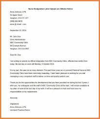 nursing resignation letter how free resignation resigning letters
