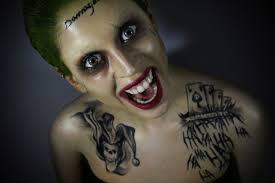 tutorial gambar joker the joker suicide squad makeup tutorial