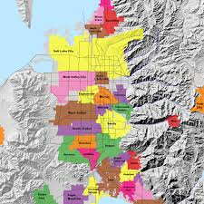 Map Of Utah Cities Salt Lake County Cities Map Image Gallery Hcpr