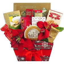 basket gifts season s greetings christmas gourmet food