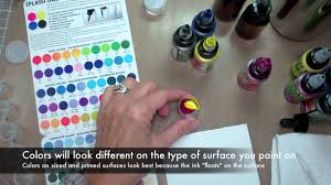 how to mix and store splash ink youtube