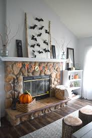 leaf string and bat wall art a two for one fall decor u2022 our house