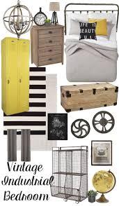 Bedroom Design Boards Vintage Industrial Bedroom Design Plan This Design Board