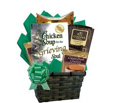 sympathy gift basket soup for the grieving soul sympathy gift basket