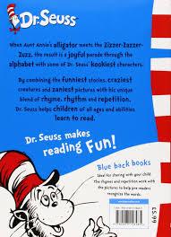 De Seuss Abc Read Aloud Alphabeth Book For Dr Seuss S Abc Blue Back Book Dr Seuss Blue Back