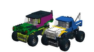 bigfoot the monster truck lego ideas monster trucks