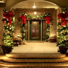 homes decorated for christmas home decorations