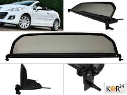 peugeot brand wind deflector peugeot 207 cc convertible 207cc new brand wind