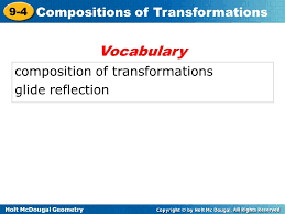 compositions of transformations ppt download