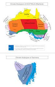 Tasmania Memes - mainland australia tasmania climate analogues australia