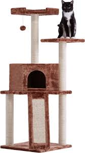 frisco 52 inch cat tree brown chewy com