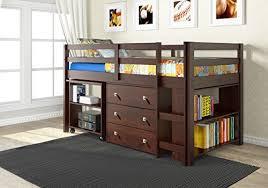 storage loft beds amazon com
