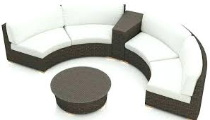 round sectional patio furniture outdoor sectional patio furniture