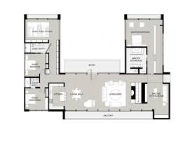 floor plans with courtyard u shaped house plans with courtyard pinteres