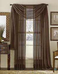 Brown And Green Curtains Designs How To Use Brown Curtains In The Interior Design