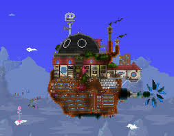 Terraria Maps Sky Home Based Off