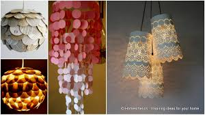 do it yourself ideas 20 interesting do it yourself chandelier and lampshade ideas for