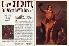davy crockett still king of the wild frontier