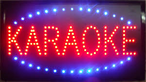2018 2016 ultra bright led neon light animated led karaoke signs