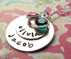 custom engraved necklaces necklace personalized jewellery silver charm necklace