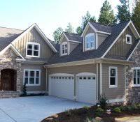 dark gray houses home decor house white trim black shutters